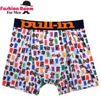 2014 Wholesale Sexy Men Boxer Shorts Men's Sexy Underwear Boxers Cotton&Modal Men Boxer Shorts 4 Size Promotional Discount