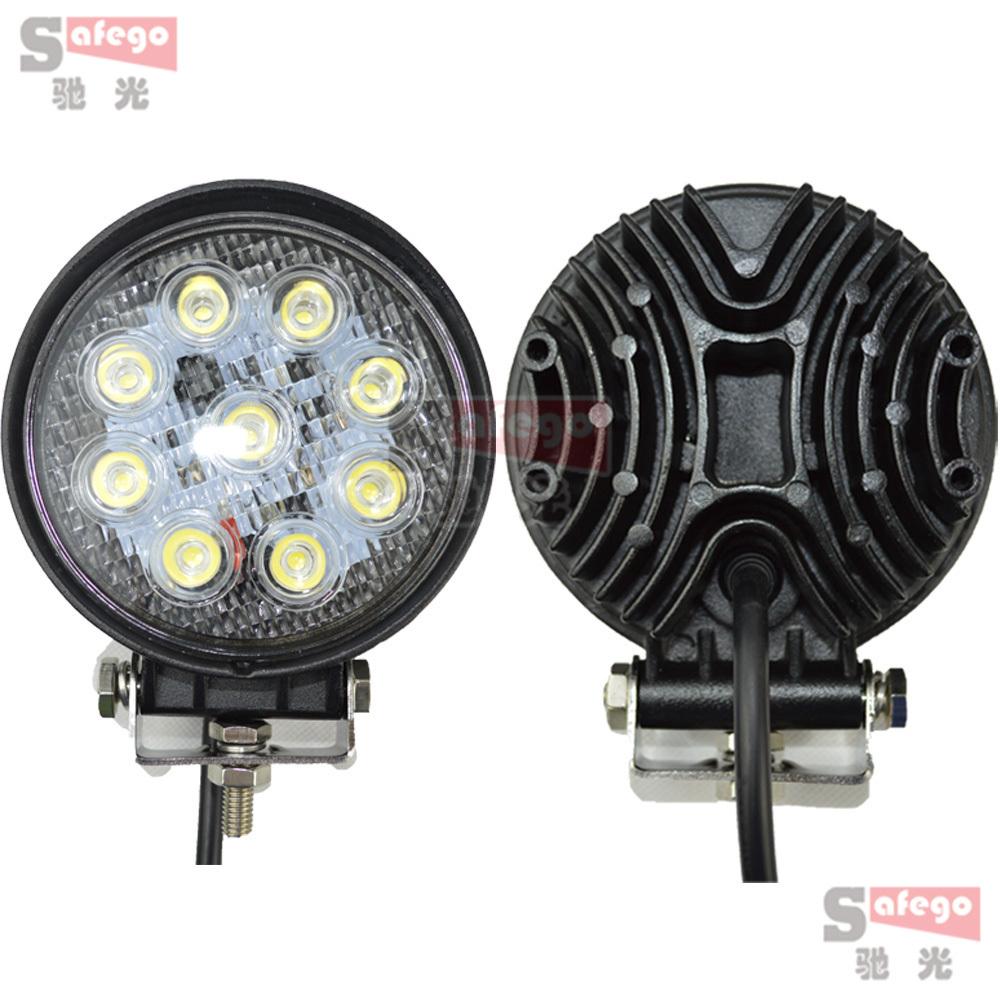 Система освещения Safego 2 4 27W 12 4WD система освещения oem 42 240w cree offroad 4 x 4 awd suv atv 4wd awd