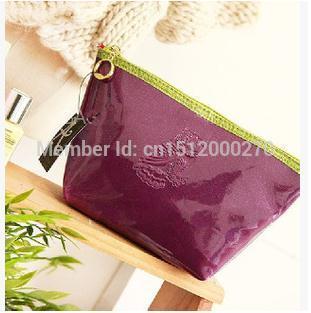 Wholesellmall free shipping NO.36 Crystal storage bag wash bag and cosmetic bag(China (Mainland))
