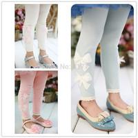 Baby Kids Girl Legging Pant Slim Warm Candy Color Autumn Child Trousers Kids Girls Full Length Leggings
