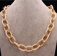 men jewelry chain necklace 15mm,  wholesale gold chains necklacE ,  gold necklace necklace men free shipping FSN020