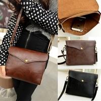 New arrival 2014 Ladies Leather Shoulder Bag Satchel Clutch Handbag Tote Hobo Purse for faster delivery