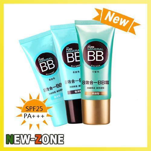 (Min Order 10$) Brand New 100% Gurantee Pure Mineral BB cream 30ml Sun Block Pefect Whitening Cover Flawless Natural Skin BB(China (Mainland))