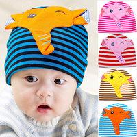 Autumn new elephant baby hedging caps children Hat baby Hat cotton cap for boys