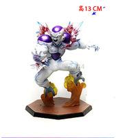 "10pcs/lot EMS  New Arrival Hot  Dragon Ball Z  Freeza Final Form Bandai Tamashii Nations Zero 5.5"" PVC Figure Toys"