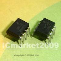 100 PCS 6N138 DIP Low Input Current High Gain Optocoupler