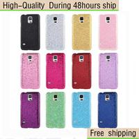 Glitter Powder Skinning Plastic Case For Samsung Galaxy S5 mini / G800 Free Shipping
