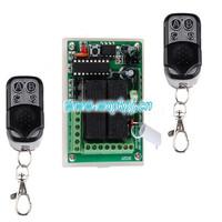 Digital Radio Remote Control Switches DC12V 4CH Receiver +Metal Transmitter  Module: AK-RK04S