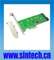 SINTECH M.2 NGFF +SATA 3 PCI-e express Hybrid Raid adatper Marvell 88SE9130
