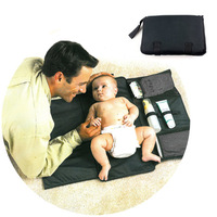 Portable baby changing mat diaper pad waterproof portable