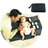 Portable baby changing mat diaper pad waterproof portable