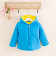 Hot Sell Clothing cotton-padded jackets Boys and girls child wadded jacket outerwear thickening winter cotton-padded Coat baby