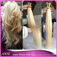 "10""-26"" Brazilian Remy Pre-Bonded Stick Tip Hair/I Tip Hair Extensions 40g 50g70g/pack 100s/pk  short Keratin Hair Extension"