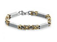 Mens Magnet 316L Stainless Steel Bracelets Bangles 2014 New Healthy Balance Energy Magnetic Bracelet Jewelry