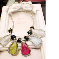 Fashionable Leaves Pendant Necklace Many Colors for Option