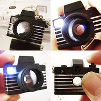 Free shipping Camera Flashlight LED Torch Light Key Chains Keychain Shutter Sound Toy New