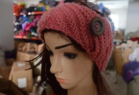 Women and kids handmade knitted crochet Winter headband warm headwraps.DHL,EMS,SF Free shipping