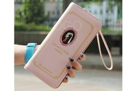 Popular New Women PU Long Purse Wallet with Famous Painting Zipper Closure Handbag for first service