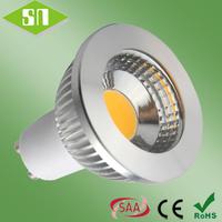 2014 new design  gu10 cob warm white led spotlight