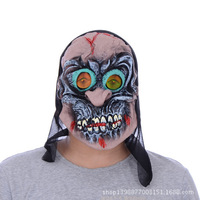 New Arrival Horror Halloween Masks Eco-Friendly Latex Mask Bar Show Full Face Party Mask Classic Masquerade Masks Devil Witch