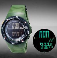 SHORS Men Military quartz Watch Sports Watches women Digital Quartz LED Dress Wristwatches 30M Waterproof Multifunction watch