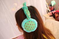 2 Pieces/Lot  Fashion  Girls  Winter Product  Ear Warmers Gilrs Fleece Earmuffs