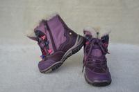 Russia Kapika Child Snow Shoe Keep Warm And Waterproof Boots Kids Slip-Resistant Snow Boots Purple