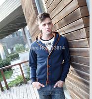 NEW SALE Trendy Men's High Quality Hoodies Sweatshirts Autumn Winter Wear man hoody coat sudaderas C008