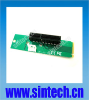 Sintech PCI-e 1X/4x card to NGFF M.2 M Key PCIe slot adapter