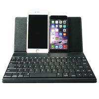Wireless Bluetooth Keyboard with Stand leather Case Cover For Apple iphone 6 4.7 / i phone 6 plus 5.5