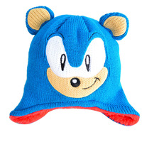Baby Hats Double Children Ear Protection Caps Winter Warm Knitted Caps Cute Cartoon Toddler Accessories 1pcs free shipping