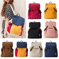 Popular Leisure Women Girl Vintage Canvas Travel Backpack Shoulder School Bag for first service