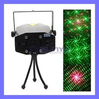 110V ~ 240V Multifunctional Mini Laser Show Systerm Laser Projector Red & Green Meteor Laser Stage Light