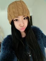3 colors 2015 designed girls knit weave headband