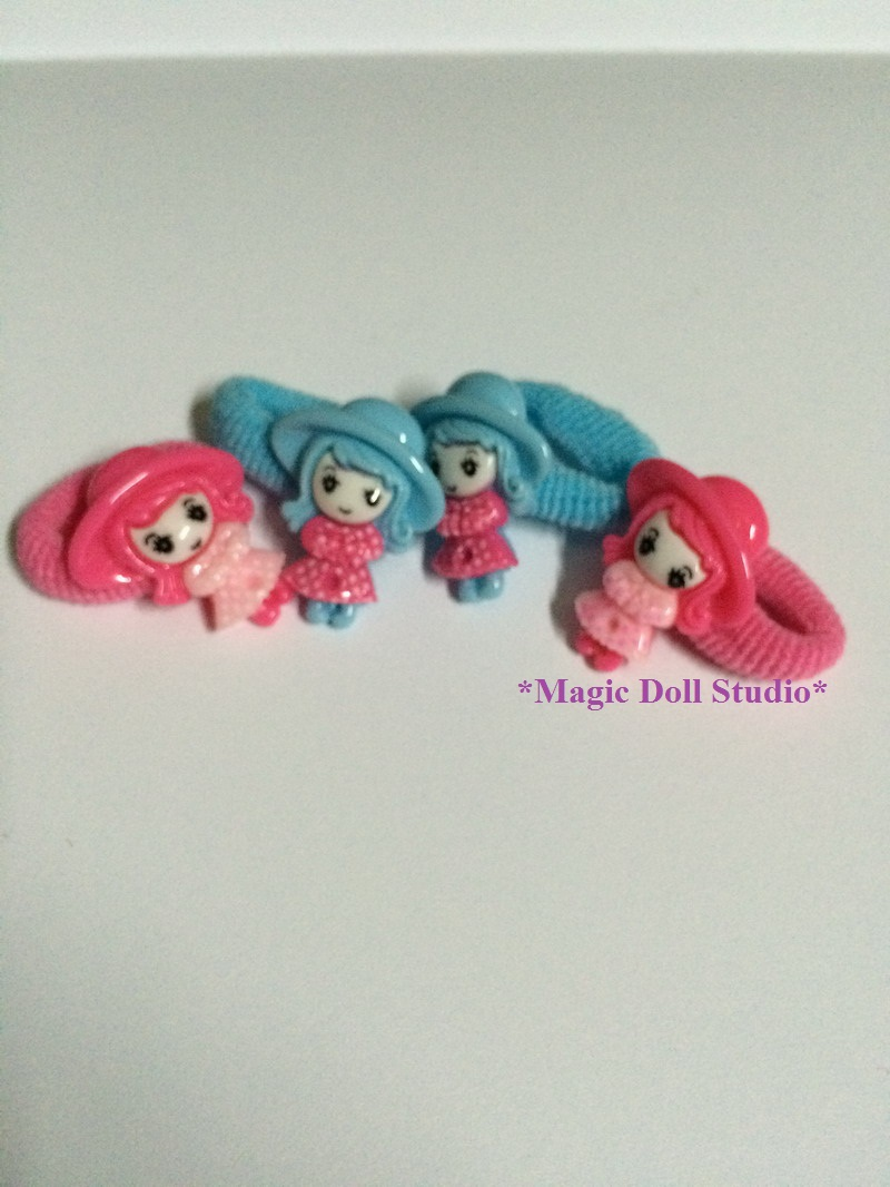 "[AM077-D] 18"" American girl doll accessories#Girl Hair Rope Set for American girl doll accessories / Baby Girl Hair Piece(China (Mainland))"