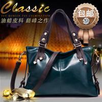 2014 women's genuine leather handbag first layer of cowhide bag messenger bag fashion one shoulder handbag women's bag