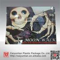Newest moon walk herbal incense bag, mini moon walk potpourri ziplock bag