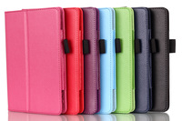 For Amazon Fire HD7(2014) Case Premium Quality Lychee Stand Leather Case Free DHL Shipping 20pcs/lot