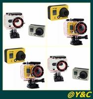 New Arrival Action Camera Diving Full HD DVR DV 30M Waterproof extreme Sport Helmet 1920*1080PCamcorder DVR Sports DV