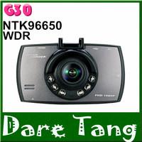 "2014 Hot Sale G30 2.7"" LCD 1080P Full HD Car DVR Dash Camera Recorder G-sensor Novatak 96650/96220 170 Degree  6 IR Night vision"