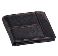 8064A  fashion and vintage wallet for man wholesale china 100% genuine leather