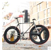 High level reserve charcoal fibre fixed gear bike race bike