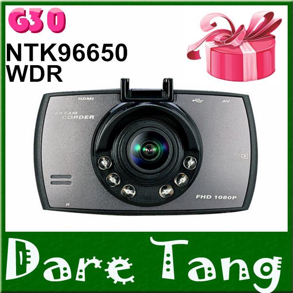 Автомобильный видеорегистратор 1 NTK96650 G30 DVR 1080P HD 30FPS 170 + G h.264 Cam