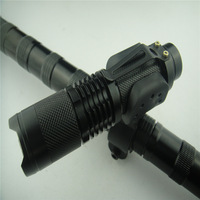 Cheap 1800Lumen ZOOMABLE CREE T6 LED Flashlight Torch Light Bicycle lamp Bike Front Mount Free shipping