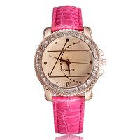 2014 New Arrival Women Watch Famous Brand Analog Wristwatch Fashion Rhinestone Quartz Watch Christmas Gift Free Shipping Sr032