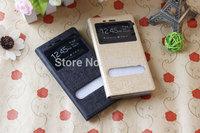2 pcs Xiaomi mi4 m4 Flip case High Quality cover stand case leather case for original Xiaomi MI4 M4 phone shipping Wendy