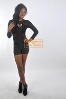 2014 autumn Women's jumpsuit sexy fashion shorts jumpsuit black  bodycon jumpsuit Sexy bandage Bodysuit