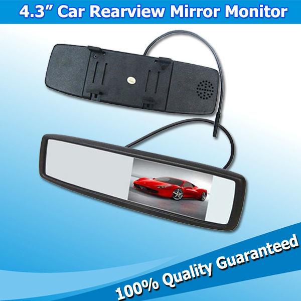 High Quality 4.3inch Safety Car Rear Vision Mirror Products View Camera Display Digital Monitors(China (Mainland))