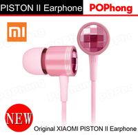 Crystal Pink Original Xiaomi Piston 2 II Earphone For Girls