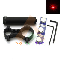 Tactical Red Dot Laser Scope Sight with Barrel Clipper for Riflescope Bow Sight Hunting Airsoft Rifle Aim